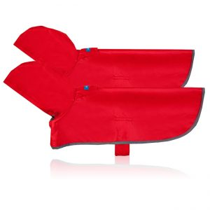 Dog Rain Poncho (Crimson)